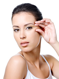 Botox treatment crow's feet lines houston texas